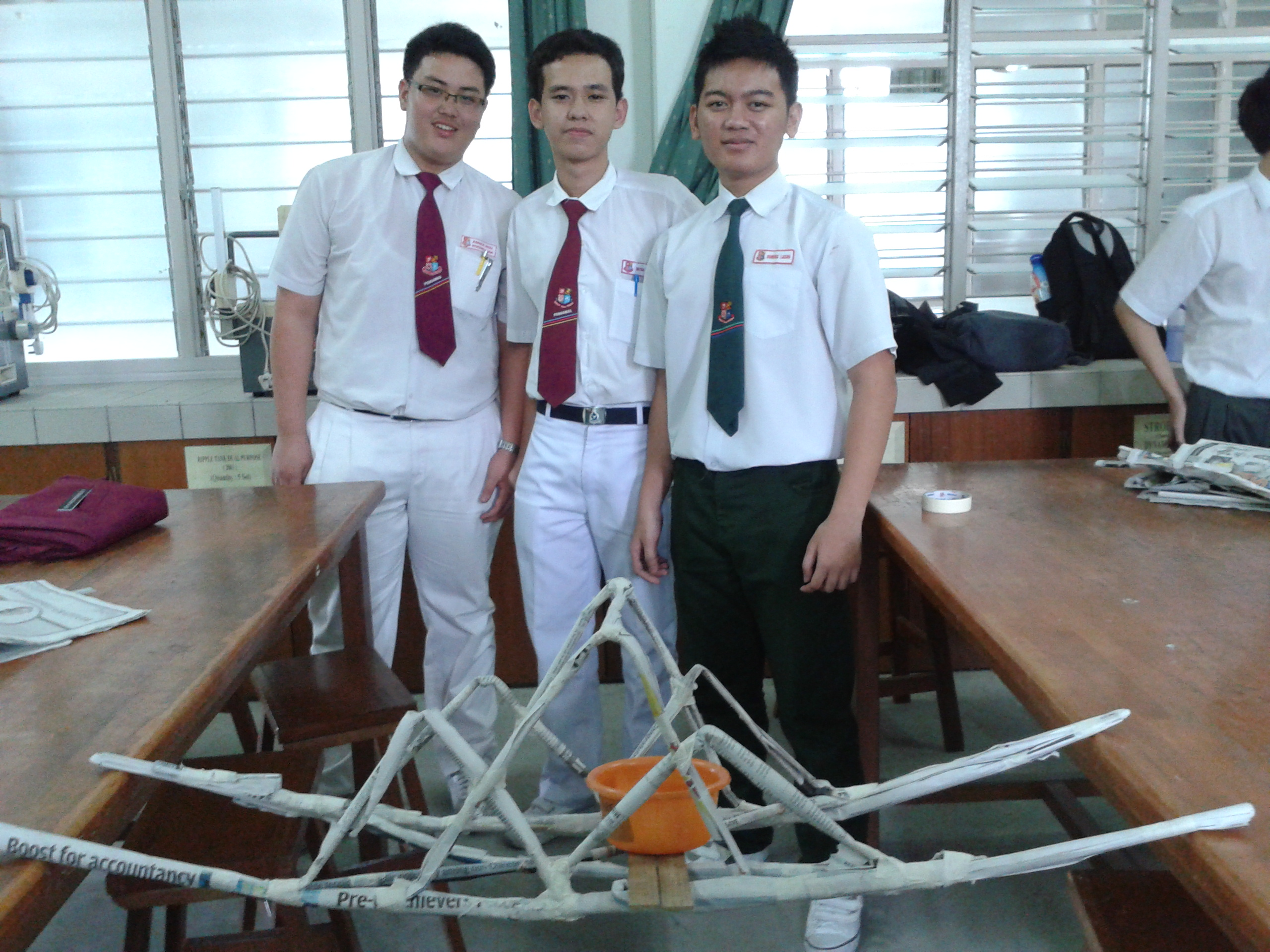 Paper Bridge Challenge  shsphysicsclub