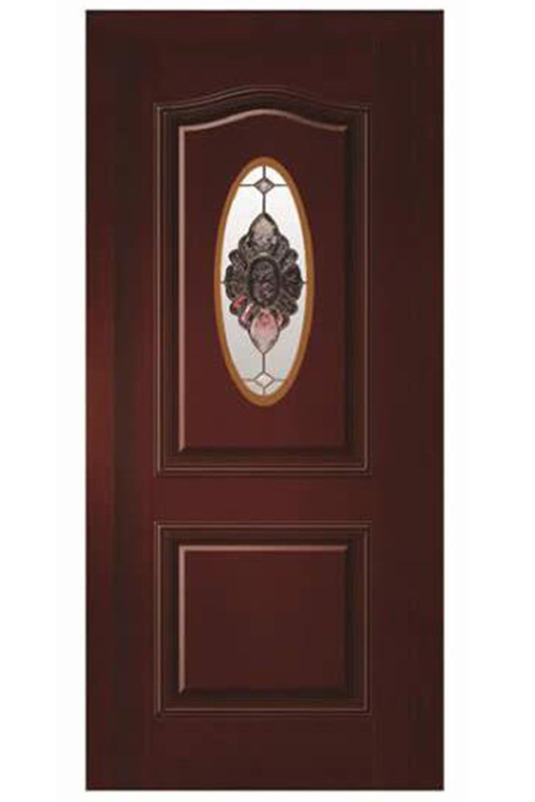 Natural Veneered Wooden Flush Door Design Mdf Living Room: Wood Grain Interior Doors
