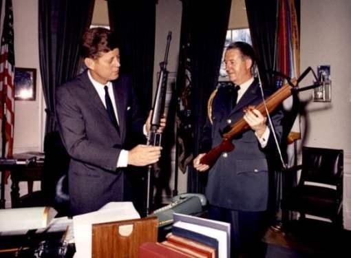 JFK Checks Out an M15