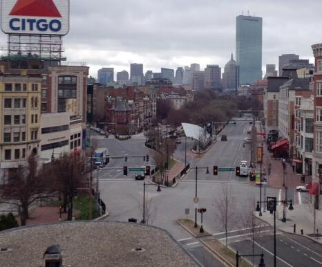 BATTLEFIELD USA: De Facto State of Martial Law Declared In Boston *Pics From the War Zone* Boston martial law deserted2