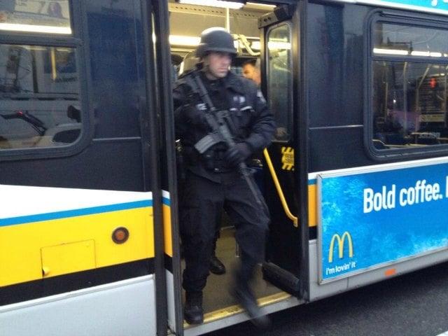 BATTLEFIELD USA: De Facto State of Martial Law Declared In Boston *Pics From the War Zone* Boston martial law2