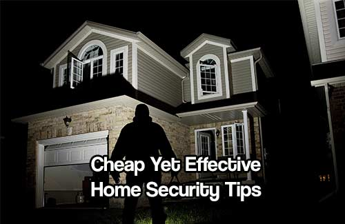 Cheap Yet Effective Home Security Tips  Shtf & Prepping