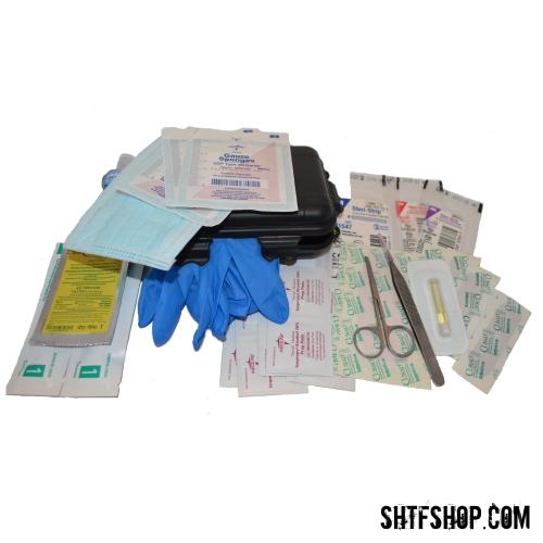 33 Pc Travel Size First Aid Kit (Flu) Individual Pandemic Kit