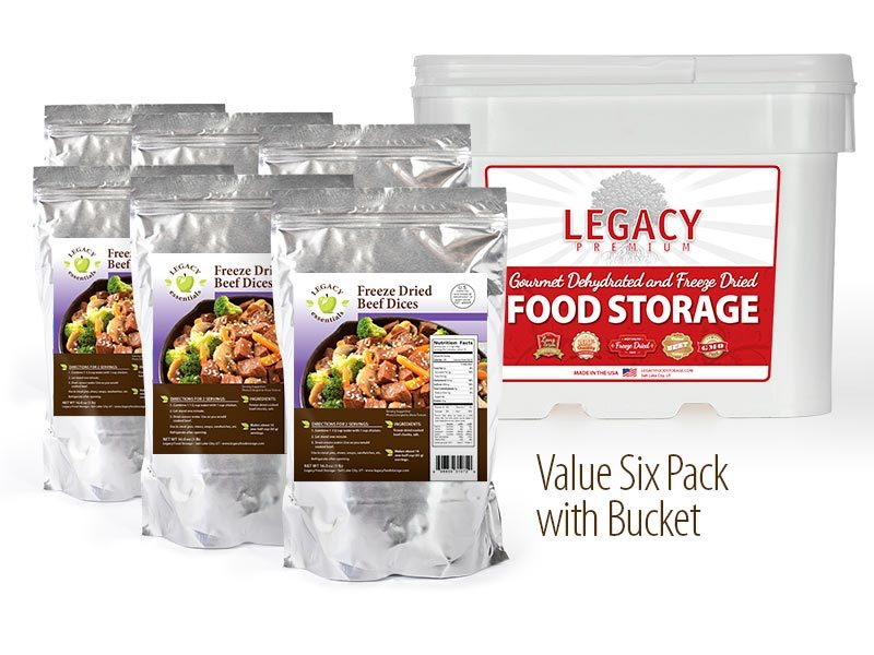 USDA Freeze Dried Beef Dices  sc 1 st  SHTFShop & Legacy Food Storage Archives - SHTFShop