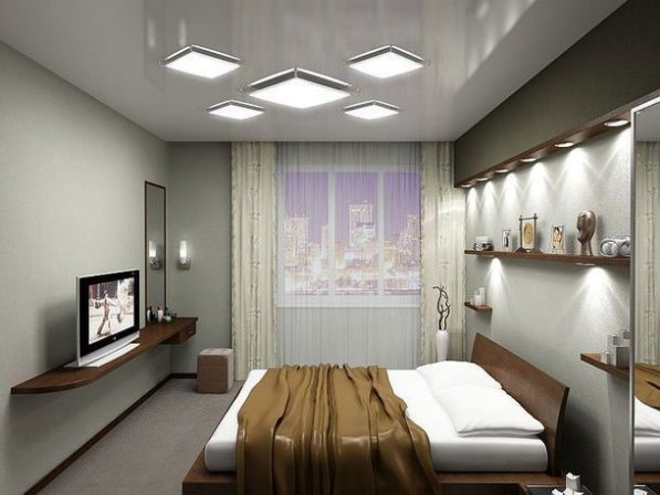 Спальня без окон фото