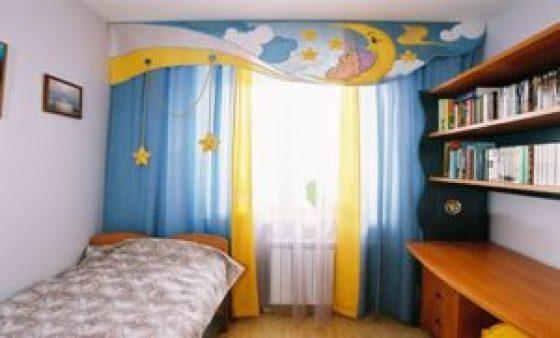 Какие купить шторы в детскую?