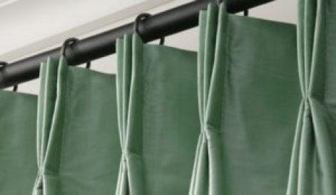 Аккуратные складки на шторах