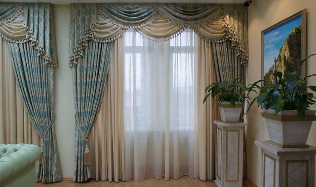 Элитные шторы заказать в Питере