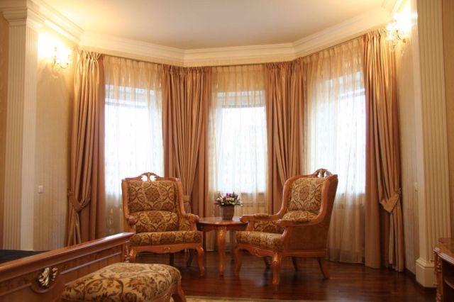 Купить атласные шторы в СПб - Кредо Альянс