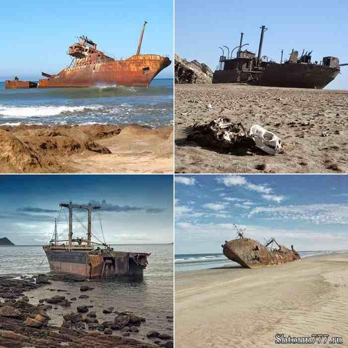 Берег Скелетов, Намибия-2