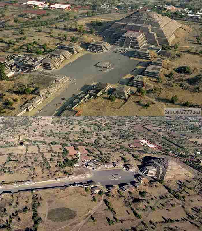 Пирамиды в Мексике-1