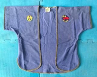 Jiaoyi feito de tecido trançado azul pela AGO