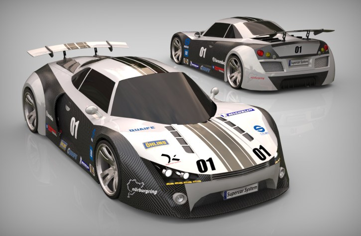 500 Group Supercar Body Challenge 2013.004