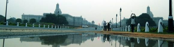 Towards President Palace, New Delhi