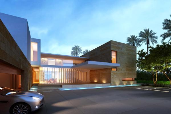 Dubai Modern Architecture Houses