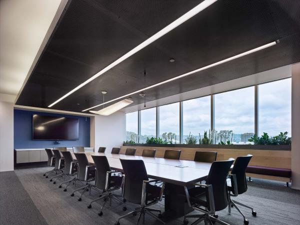 Industrial Office Lighting Design