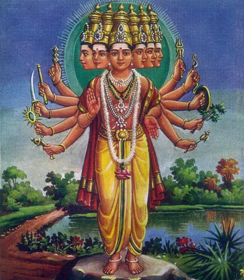 hindu-god-muruga-sixfaces-images