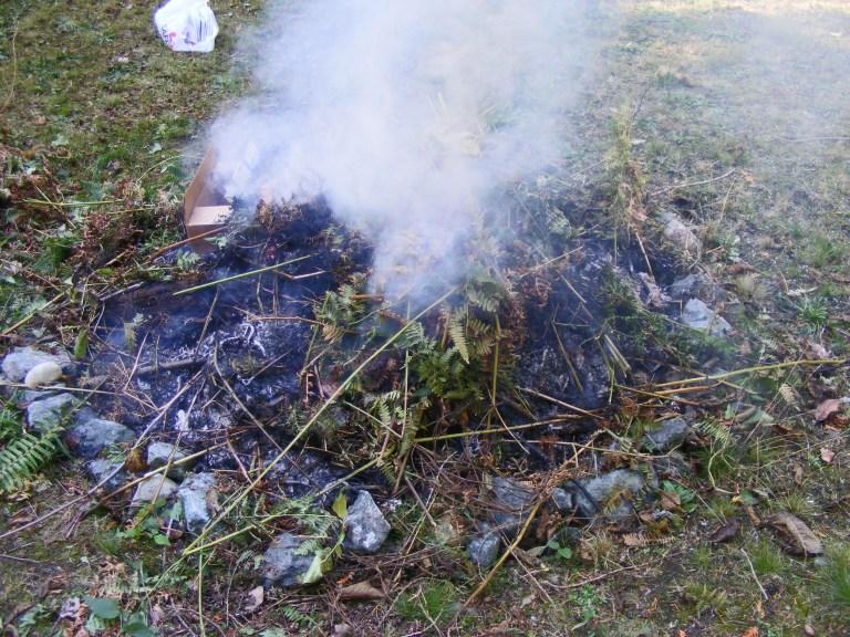 smoldering-fire