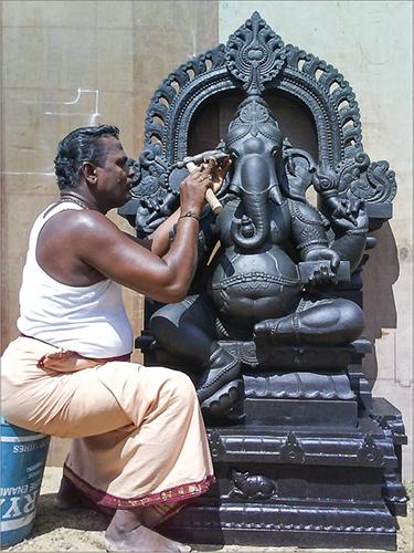 Rock -Ganesha