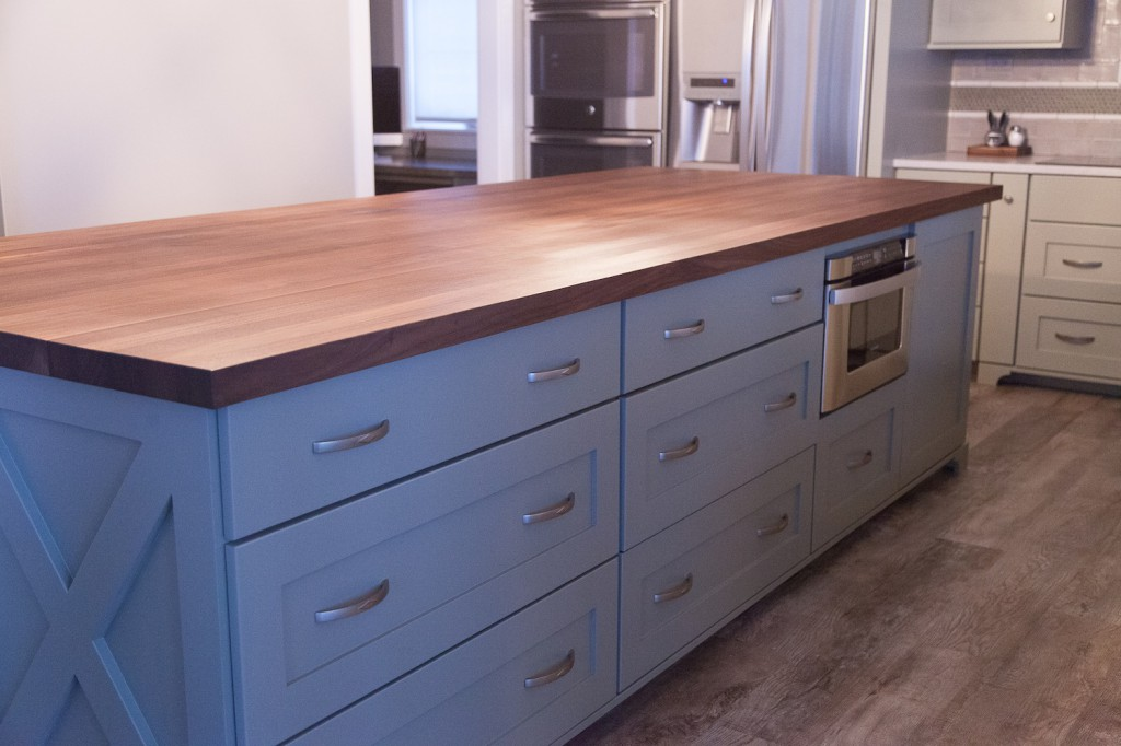 Kitchen Style Inspiration Dark Butcher Block Countertops