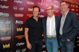 Patrick Wilson, Richard Jenkins, and Matthew Fox / Photo by ChinLin Pan
