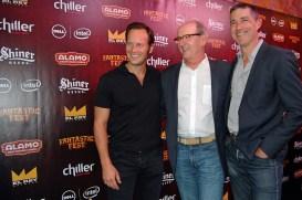 Patrick Wilson, Richard Jenkins, and Matthew Fox / Photo by ChinLin Pan