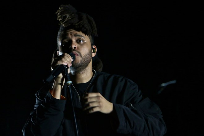 Sunday night headliner The Weeknd for ACL weekend 2. Photo by Josh Guerra.