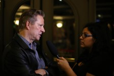 "Our TV & Film Editor Kimberley Carmona interviews Chris Cooper about ""Lone Star."" / Photo by Josh Guerra"