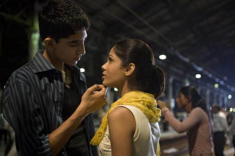 """Dev Patel and Freida Pinto starred in the 2009 Best Picture winner, Danny Boyle's """"Slumdog Millionaire."""" / Photo courtesy of indiafacts.org"""