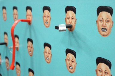 """The Human Rights Foundation's """"Silence the Regime with your flashdrive"""" project is a project where they will use donated flash drives to send e-books to North Korea. / Photo by Dana Summers"""