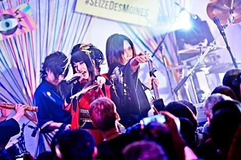 Wagakki Band / Photo courtesy of Avex Group