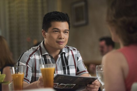 """Josh Chan from """"Crazy Ex-Girlfriend"""" played by Vincent Rodriguez III"""
