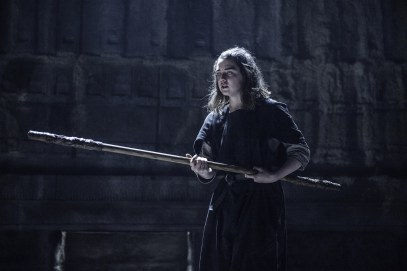 Maisie Williams as Arya Stark. Photo credit HBO