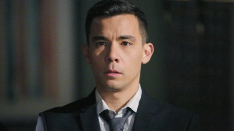 "Oliver from ""How to Get Away with Murder"" played by Conrad Ricamora"