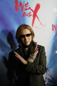 """Yoshiki seen at The Los Angeles Premiere """"We Are X"""" on Monday, October 03, 2016, in Los Angeles, CA. / Photo by Eric Charbonneau/Invision for Drafthouse Films/AP Images"""