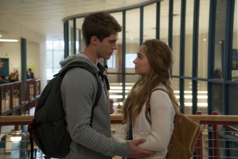 (Left to Right) Blake Jenner and Haley Lu Richardson / Photographer: Murray Close; Copyright: ©2015 STX Productions