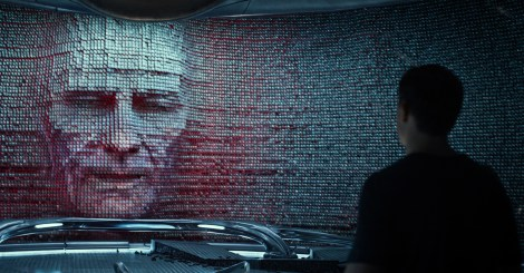 Bryan Cranston stars as 'Zordon' in SABAN'S POWER RANGERS. Image courtesy of Lionsgate