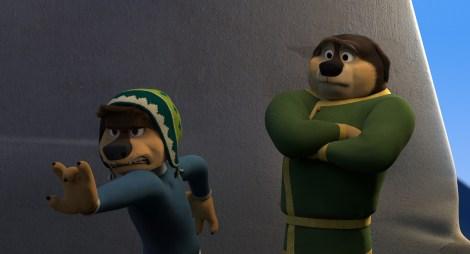 Bodi (Luke Wilson) and Khampa (J.K. Simmons)
