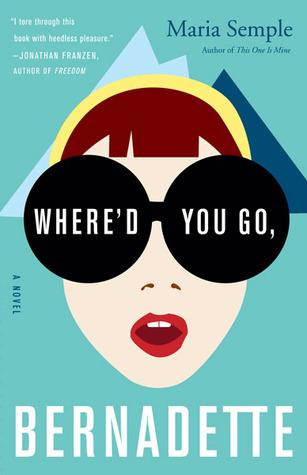 """Novel cover of """"Where'd You Go, Bernadette"""""""