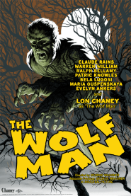 The Wolf Man by Eric Powell   Photo courtesy of Mondo