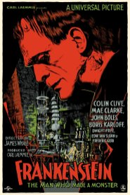 Frankenstein by Francesco Francavilla | Photo courtesy of Mondo