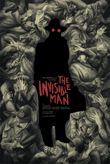 The Invisible Man by Jonathan Burton | Photo courtesy of Mondo
