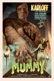 The Mummy by Stan & Vince   Photo courtesy of Mondo