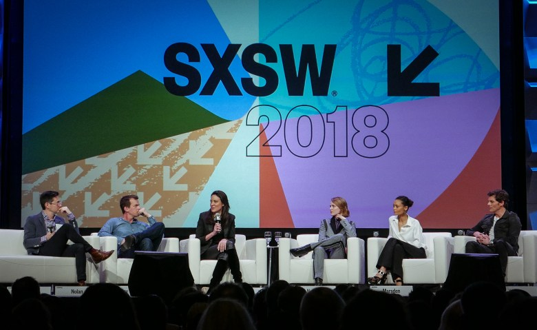 Westworld Panel at SXSW   Photo by Leigh Kettle