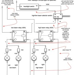 Headlight Wiring Diagram 6 Pin Plug Relay Harness Schematic Get Free