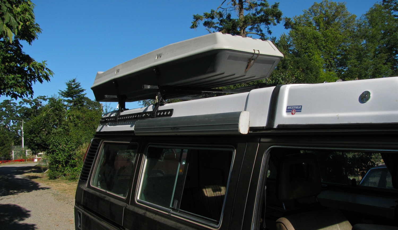 vanagon kludgy roof rack rail shooftie