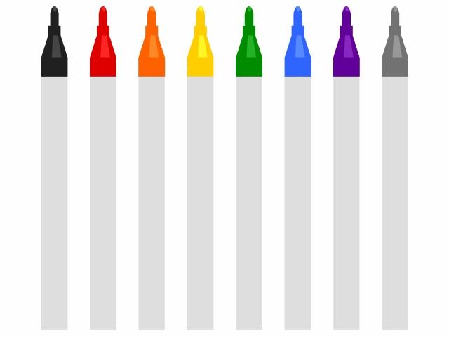 マジックペン(8色)