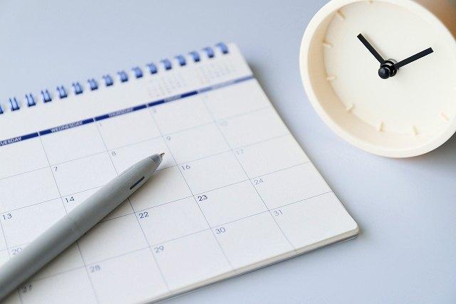 カレンダー 予定イメージ