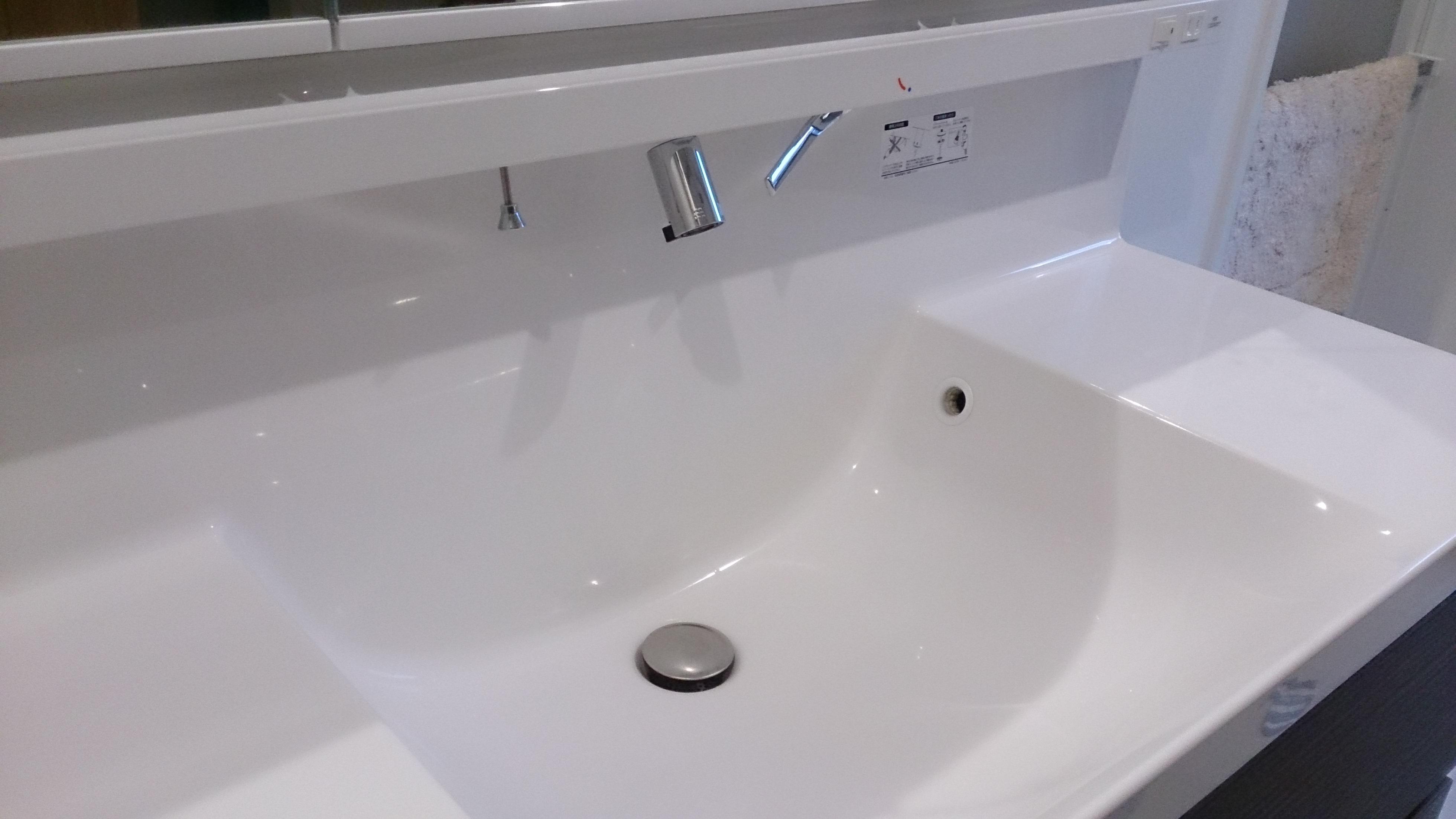 洗面 台 リクシル