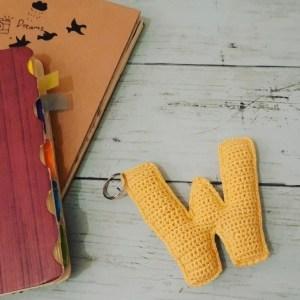 Crochet Letter w